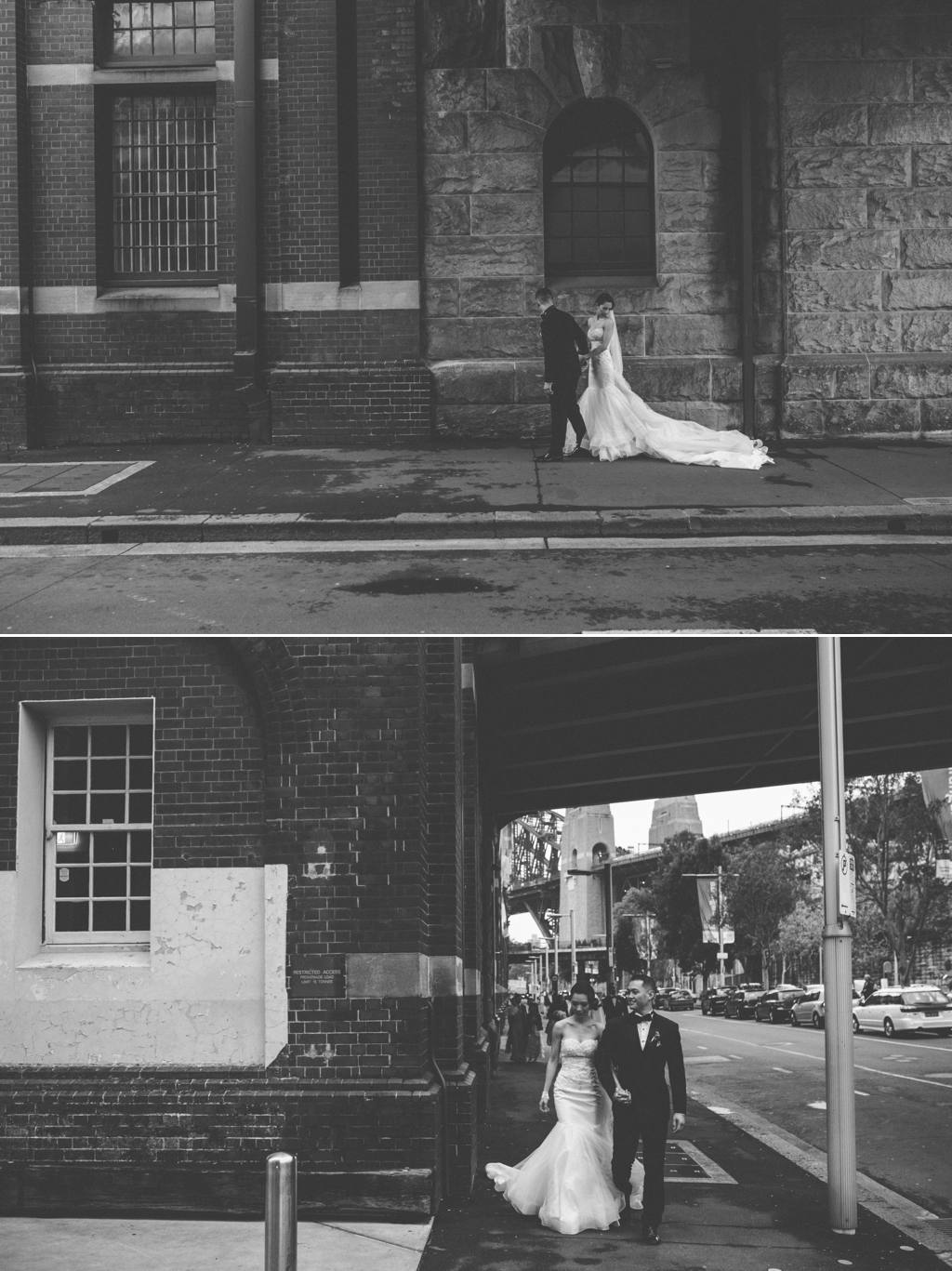 Sydney wedding street style photography Tea Rooms Queen Victoria Building Sydney Wedding Julia + Ken